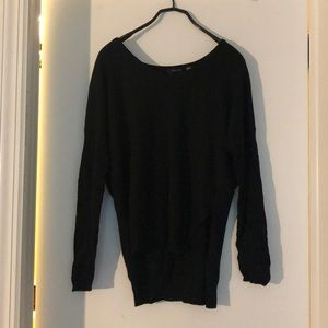 Dex Soft Black Long-Sleeved Sweater